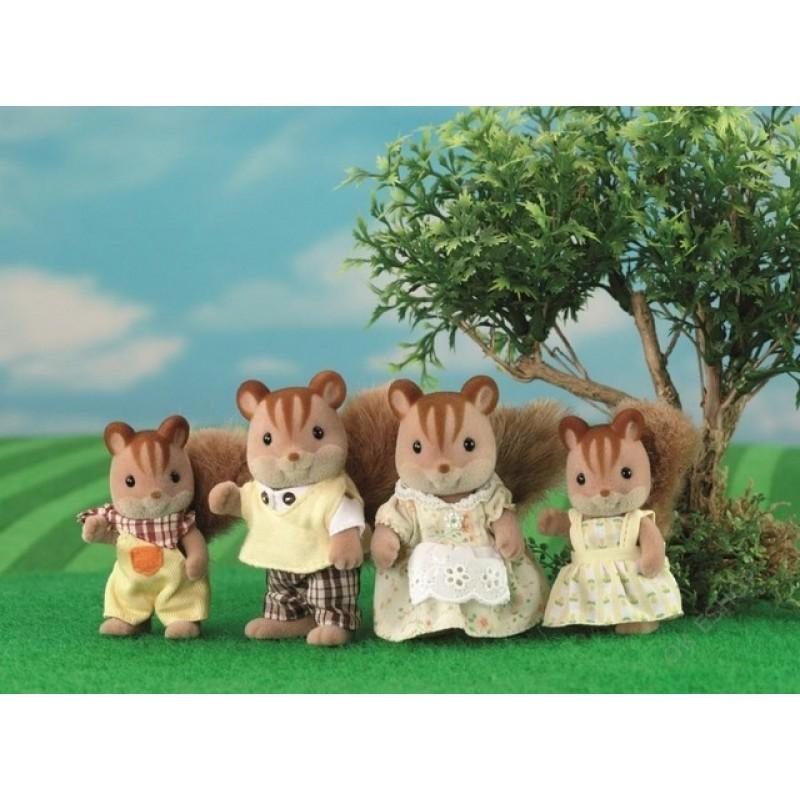 Sylvanian Families - Rodina hnědých veverek